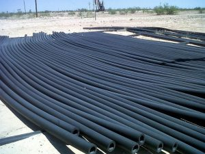 Plastic pipe recycler and removal permian basin